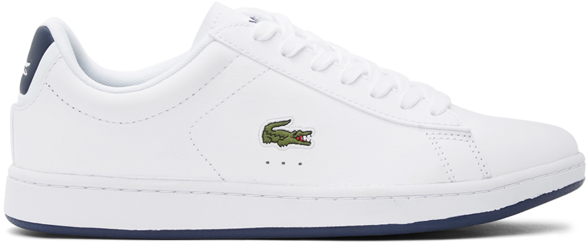White & Navy Carnaby Evo Sneakers