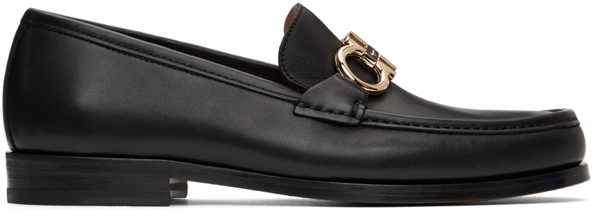 Black Ornament Loafers