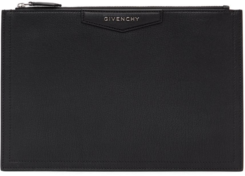 Givenchy 黑色中号 Antigona 手拿包