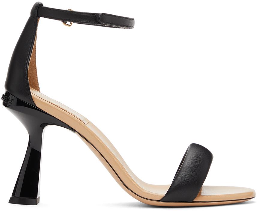 Black Carène Heeled Sandals