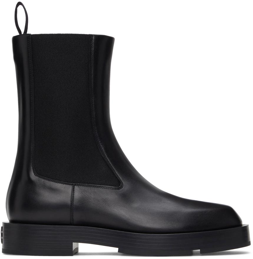 Black Show Chelsea Boots