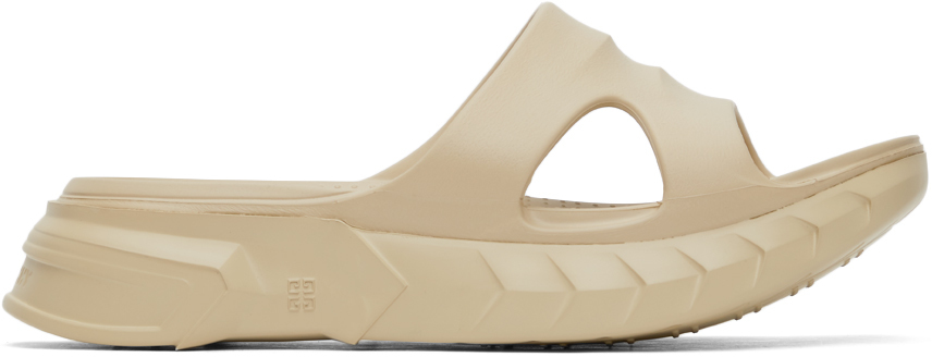 Beige Marshmallow Sandals