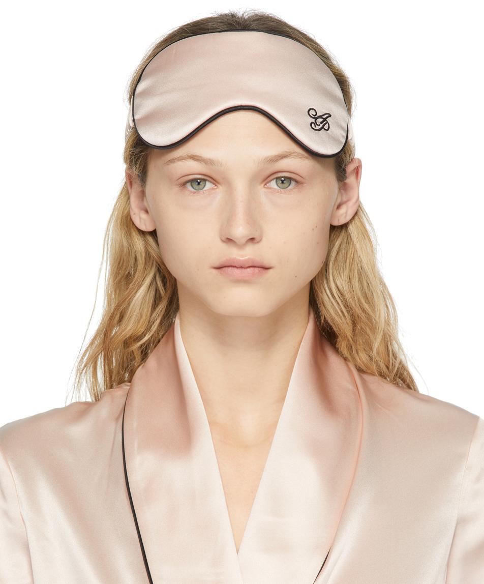 Pink Silk Classic PJ Eye Mask