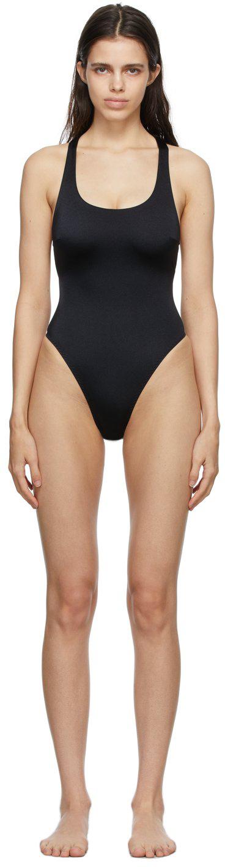 Black Keia One-Piece Swimsuit
