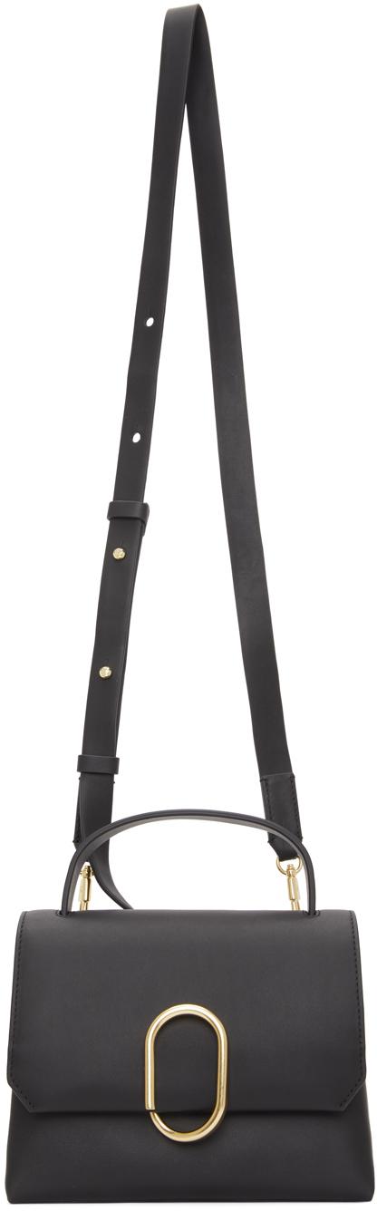 31 Phillip Lim Black Mini Alix Top Handle Bag 211283F046069