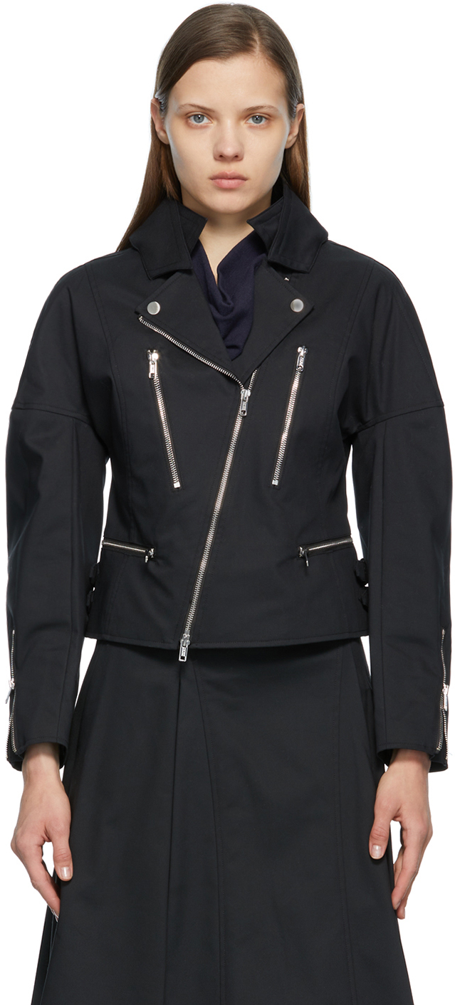 31 Phillip Lim Black Biker Jacket 211283F063077