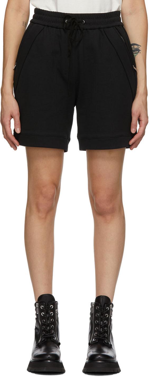 31 Phillip Lim Black Pull On Shorts 211283F088029
