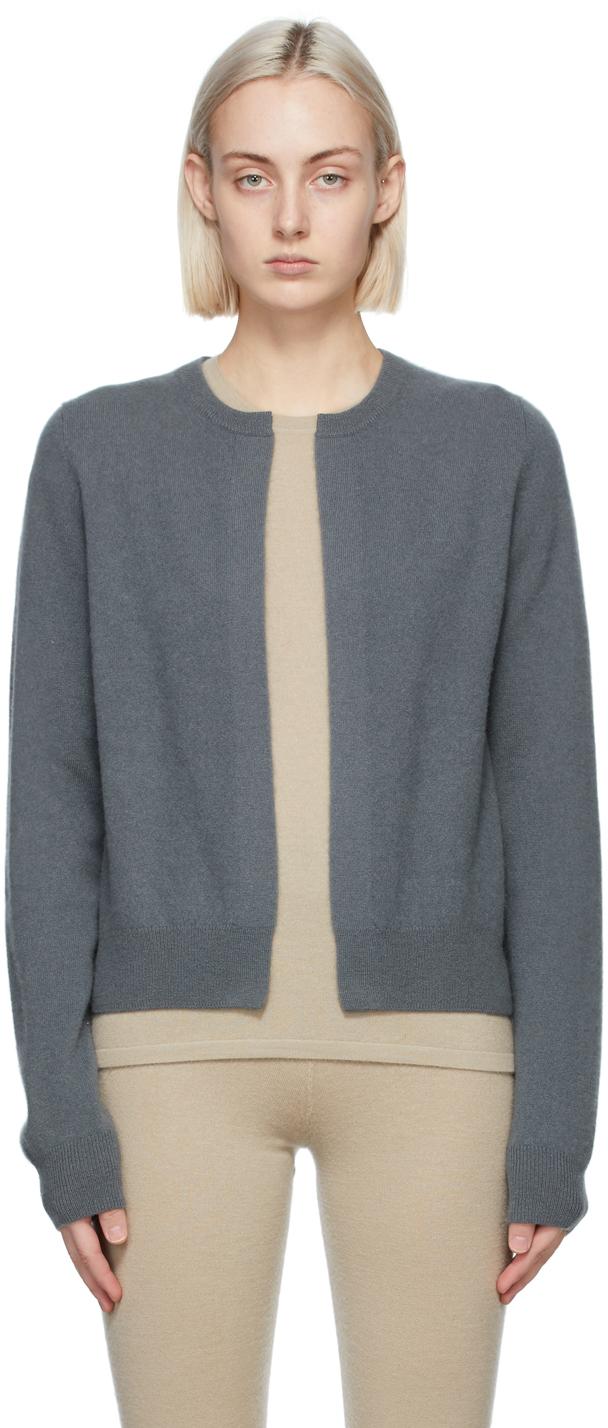 Frenckenberger 灰色 Mini 羊绒开衫