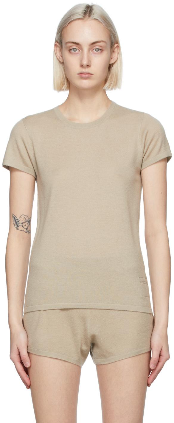 Beige Cashmere Perfect T-Shirt
