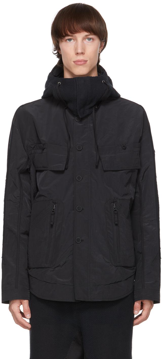 Black Zip Jacket