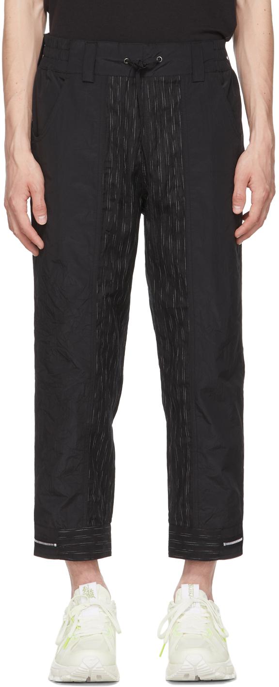 Black Wrinkled Trousers
