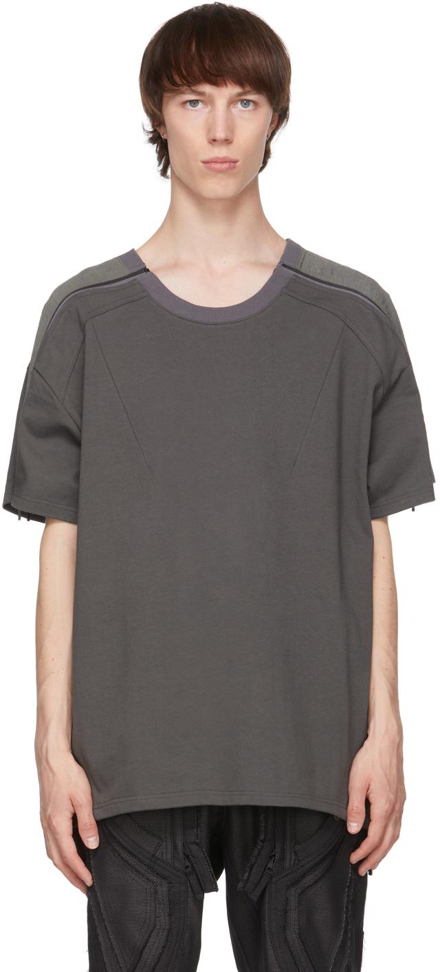 Green Zip Panel T-Shirt