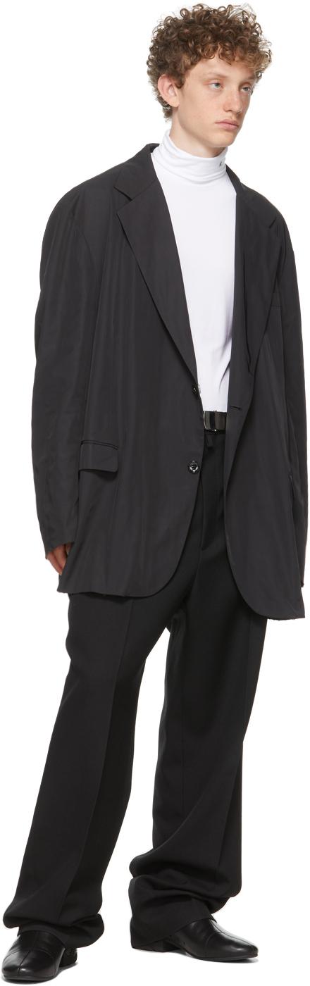 Raf Simons ブラック オーバーサイズ ブレザー