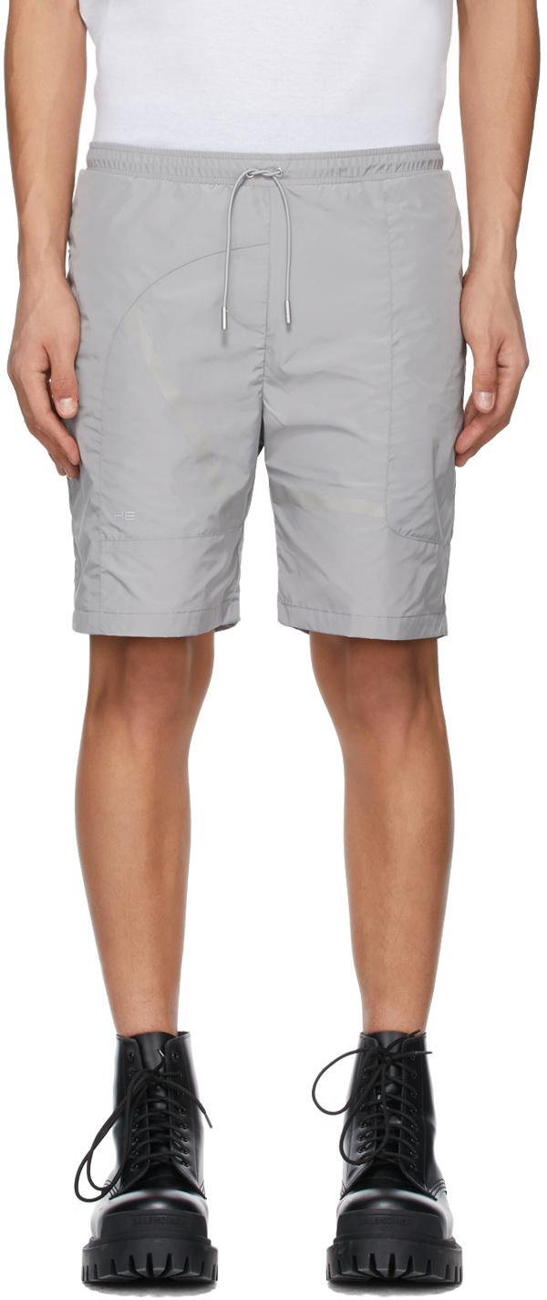 Grey Track Shorts
