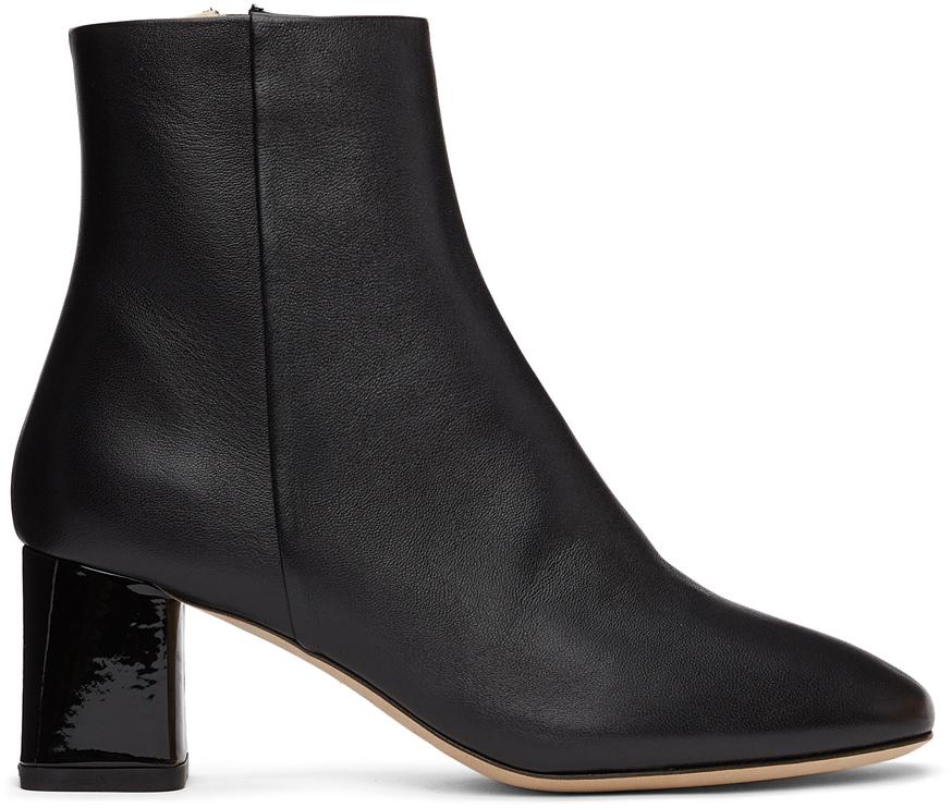 Repetto 黑色 Melo 踝靴