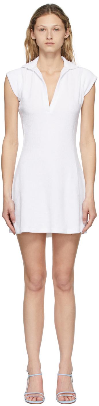 White Terry Coco Tennis Dress