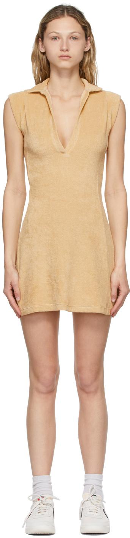 Khaki Terry Coco Tennis Dress