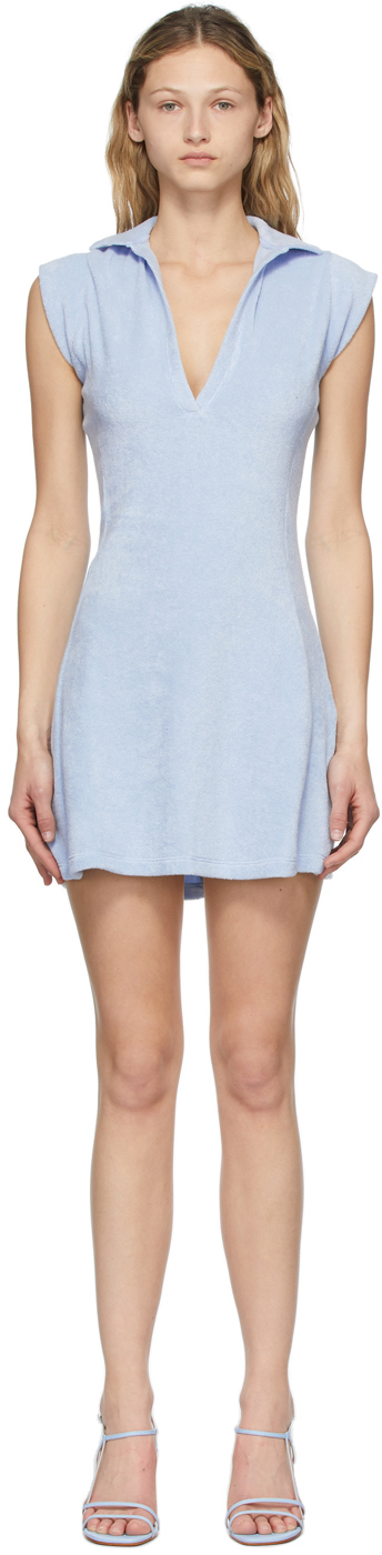 Blue Terry Coco Tennis Dress