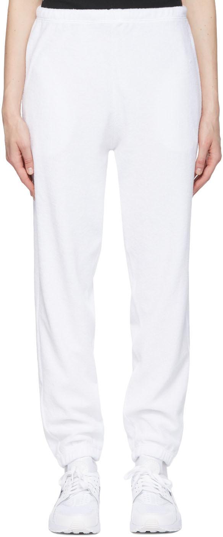 White Terry Beachwood Lounge Pants