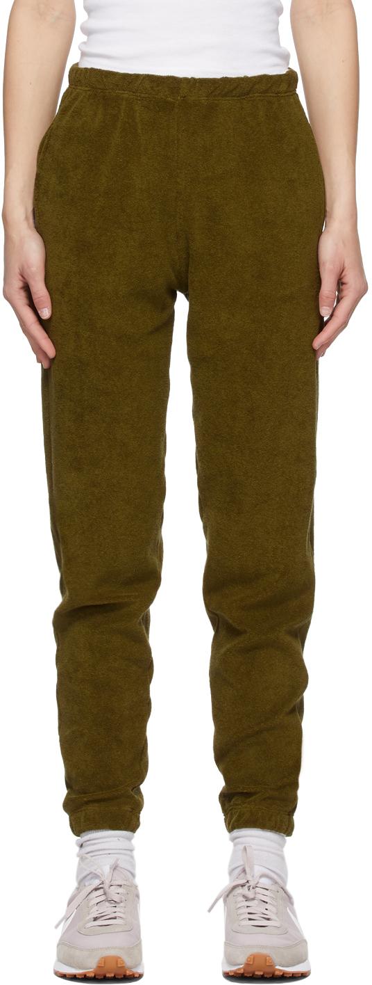SSENSE Exclusive Green Terry Beachwood Lounge Pants