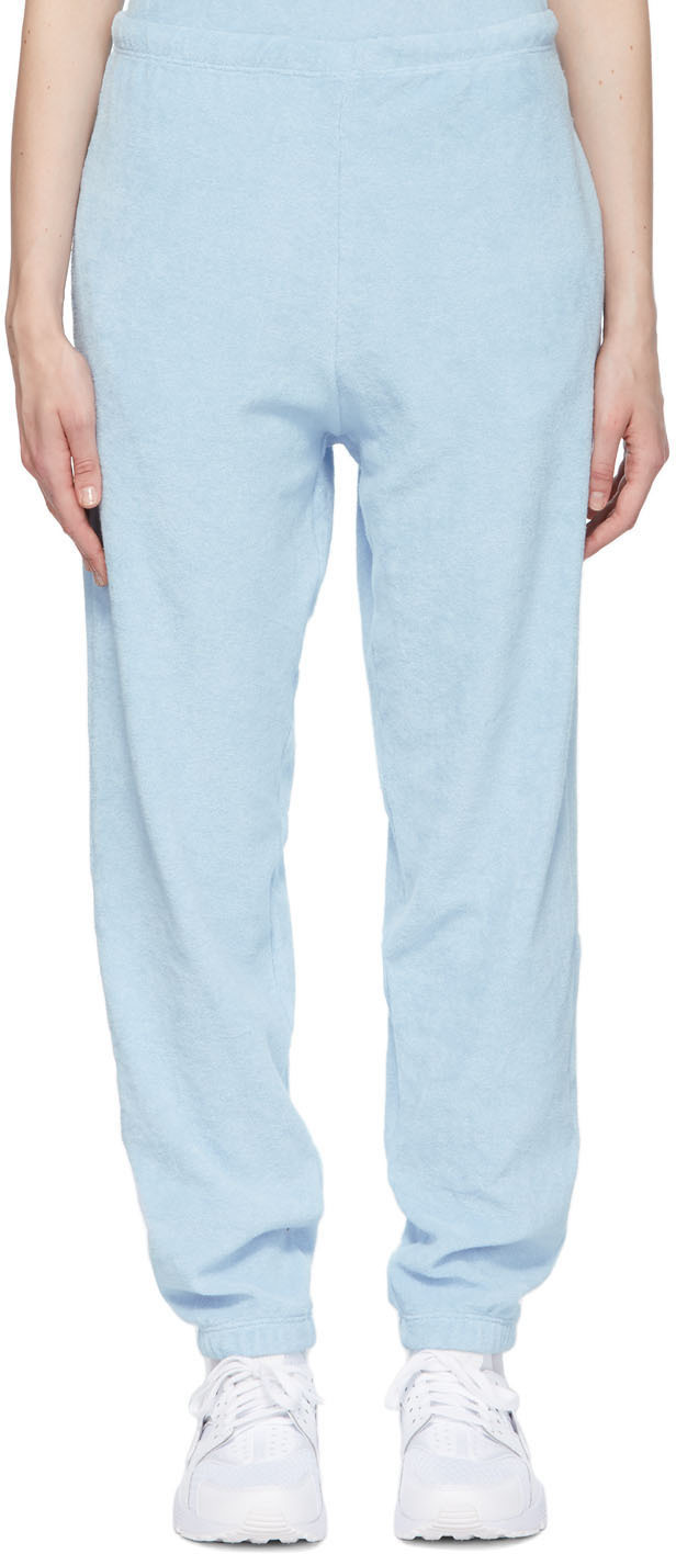 Blue Terry Beachwood Lounge Pants