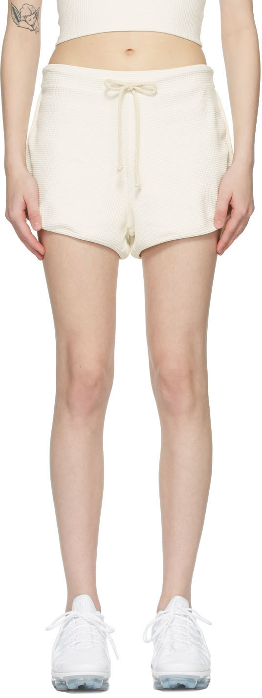 SSENSE Exclusive Off-White Thermal Leisure Shorts