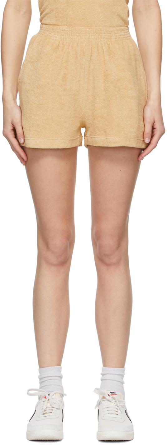 Khaki Terry Port Shorts