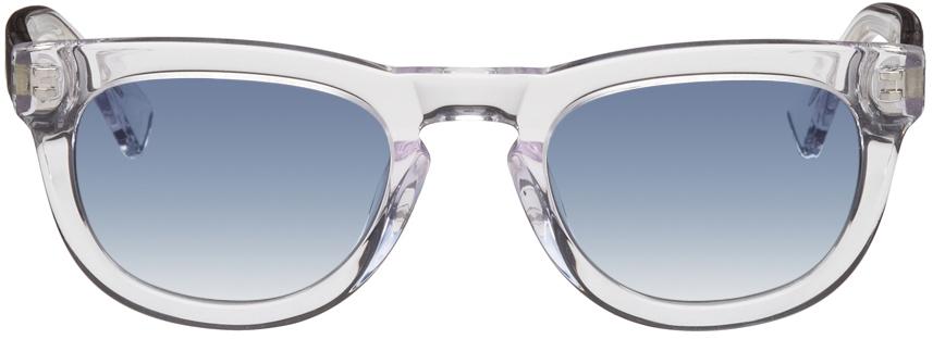 Transparent Alton D-Frame Sunglasses