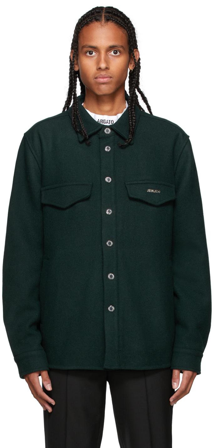 Green Tait Overshirt Jacket