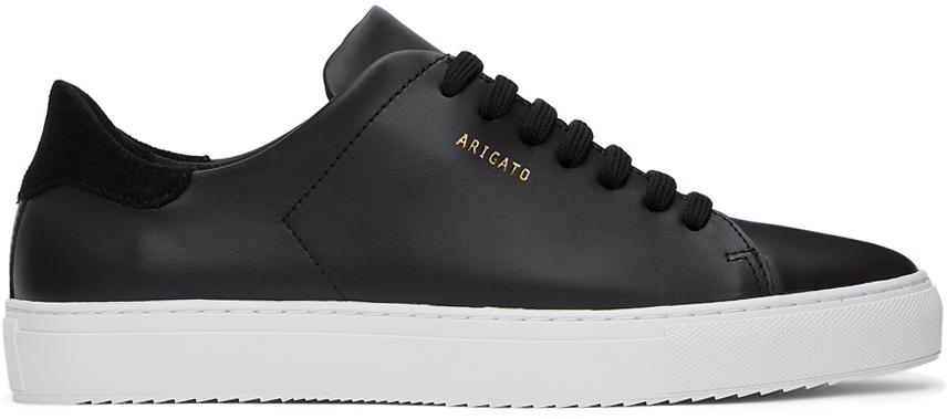Black & White Clean 90 Sneakers
