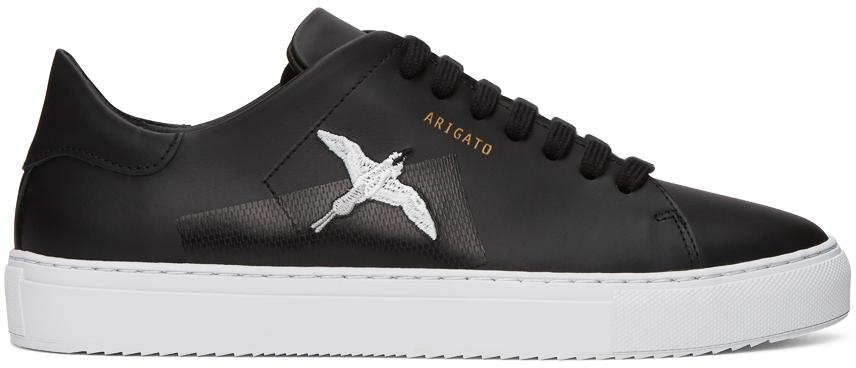 Black Taped Bird Clean 90 Sneakers
