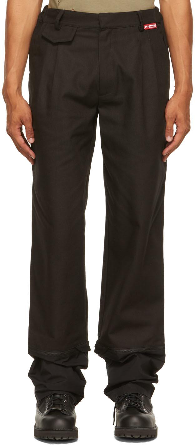 Black Winchester TLC Gaiter Trousers