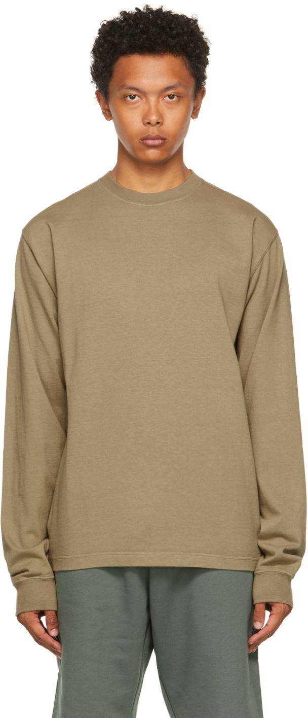 Taupe All Seasons Utility Long Sleeve T-Shirt