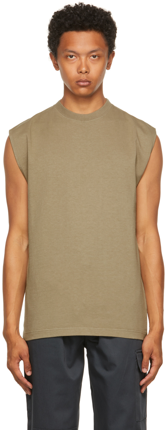 Taupe All Seasons Utility Tank Top