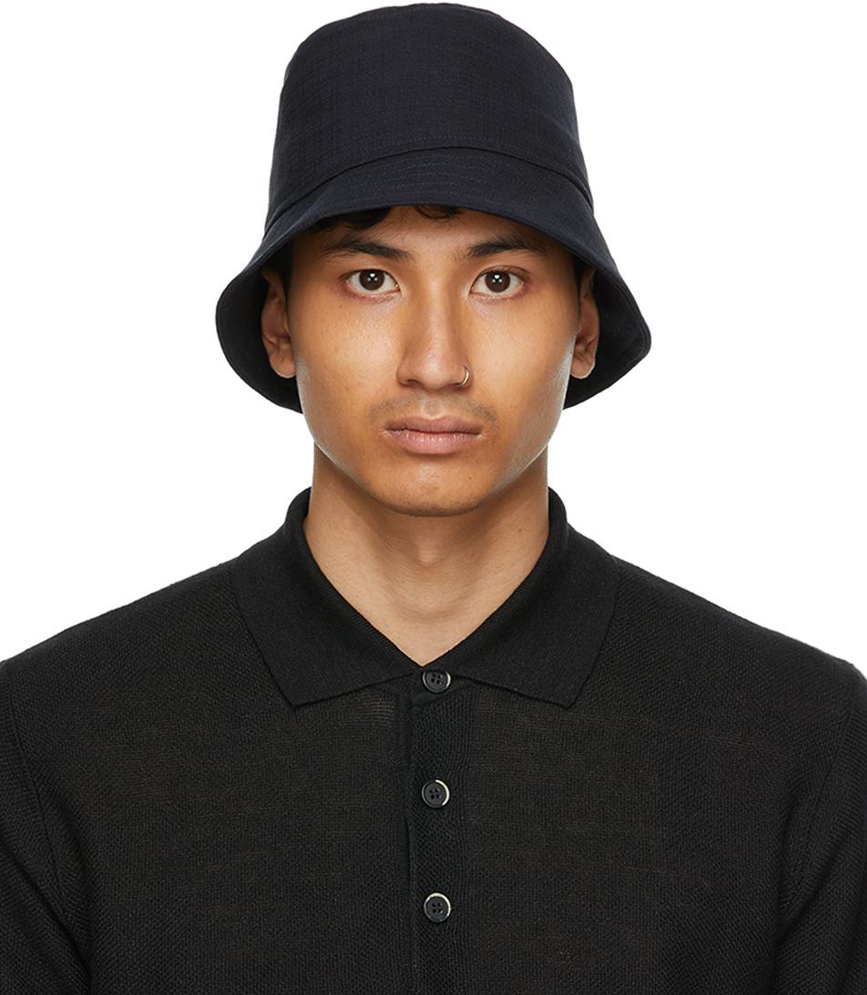 Navy Ostro Bucket Hat