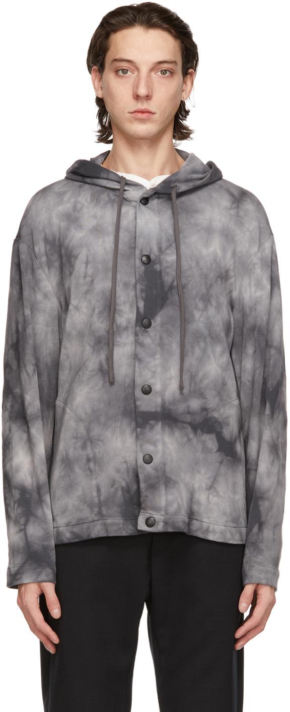 Grey Caroman Overshirt Jacket