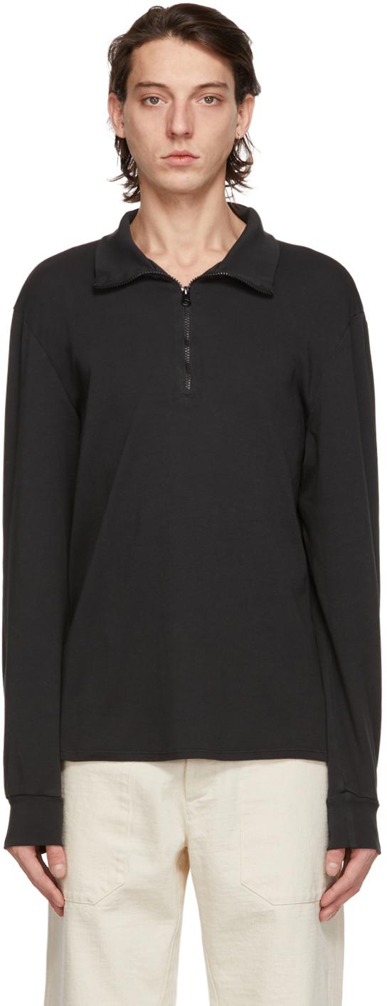 Grey Calenda Zip-Up Sweater