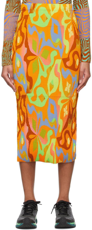 Orange Ekke Skirt