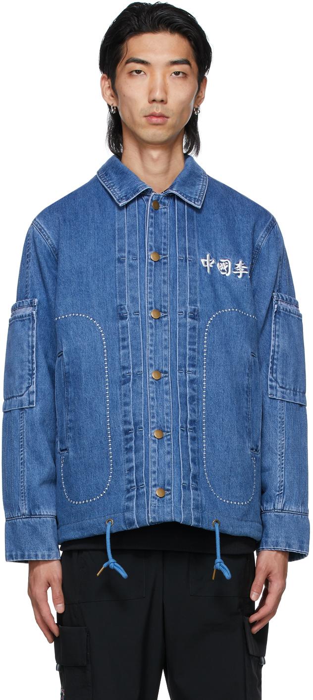 Blue Denim Washed Jacket