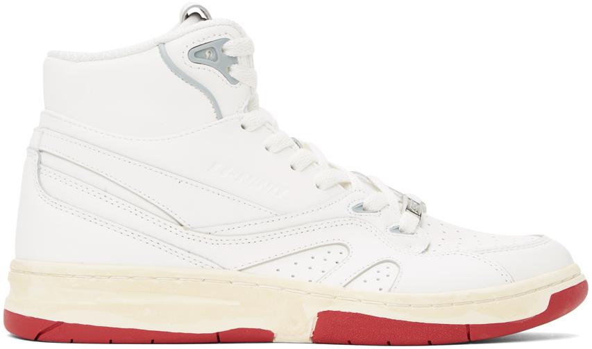 White 937 Deluxe Hi Sneakers