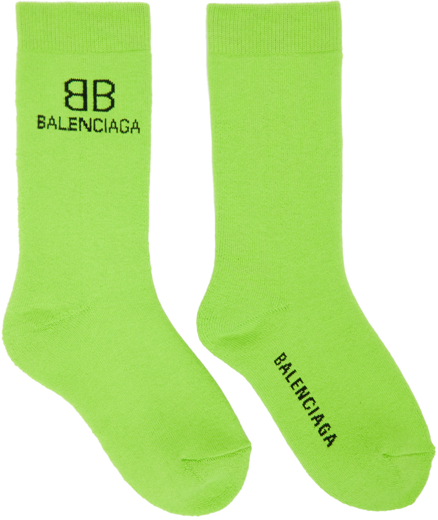 Green & Black BB Socks