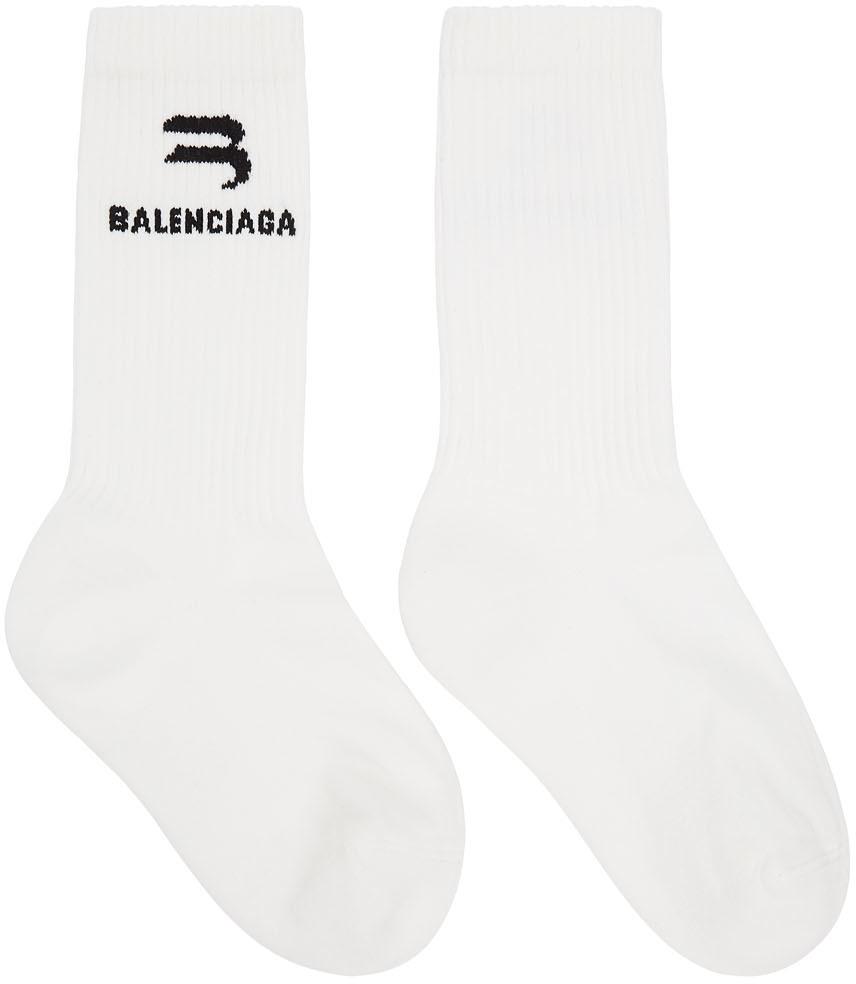 White Glow-In-The-Dark Socks