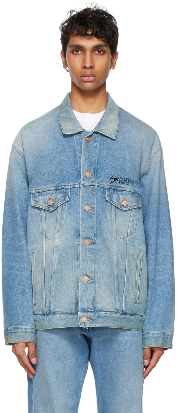 Balenciaga オーバーサイズ デニム ジャケット