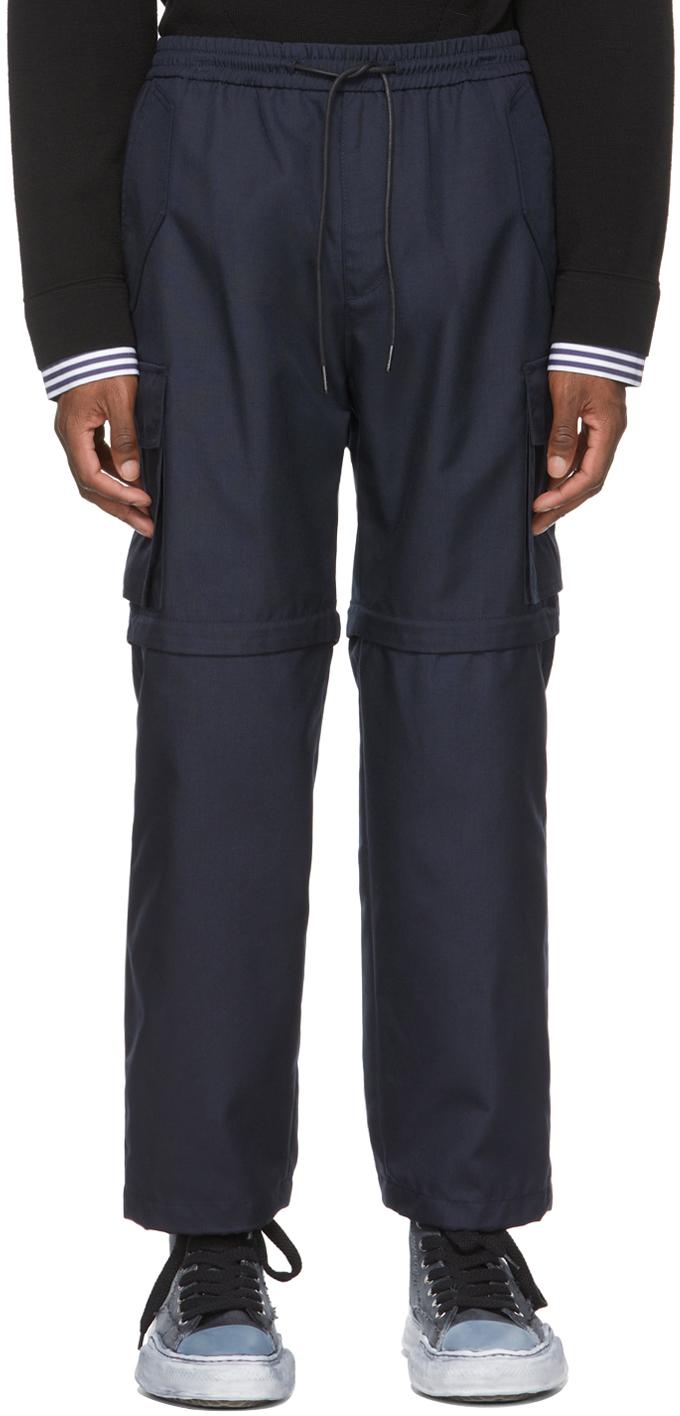 Navy Cordura® Detachable Knee Cargo Pants
