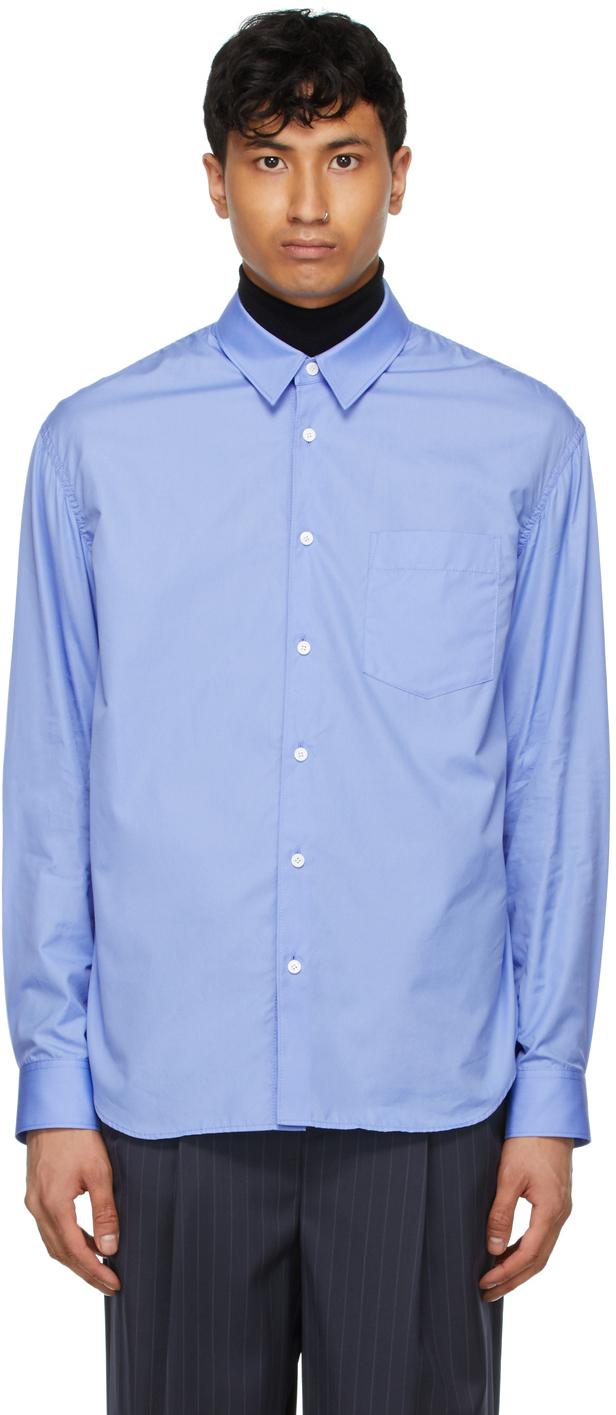 Blue Double Layered Shirt
