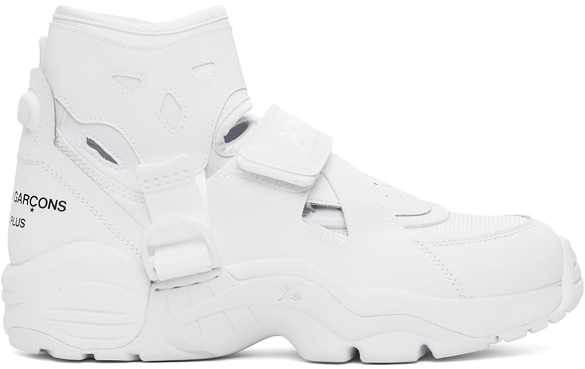 White Nike Edition Air Carnivore Sneakers