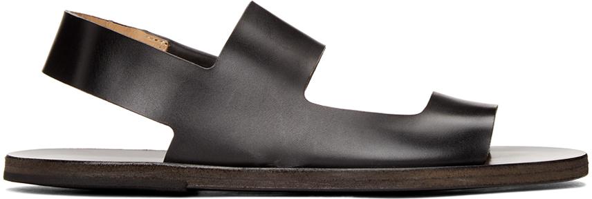 Marsèll Black Sandelo Sandals