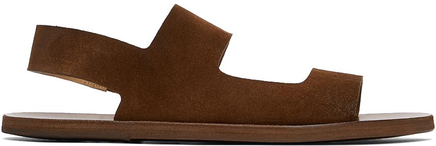 Marsèll Brown Sandellone Sandals