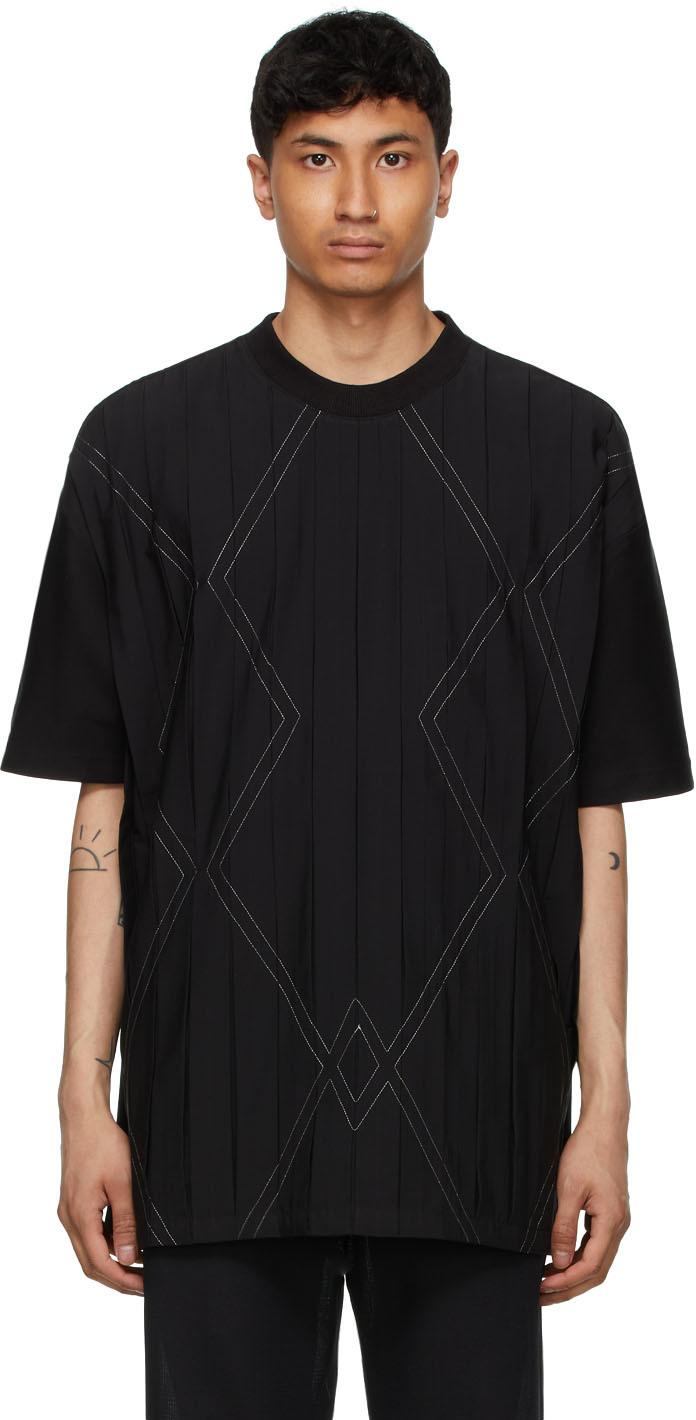Black Pattern T-Shirt