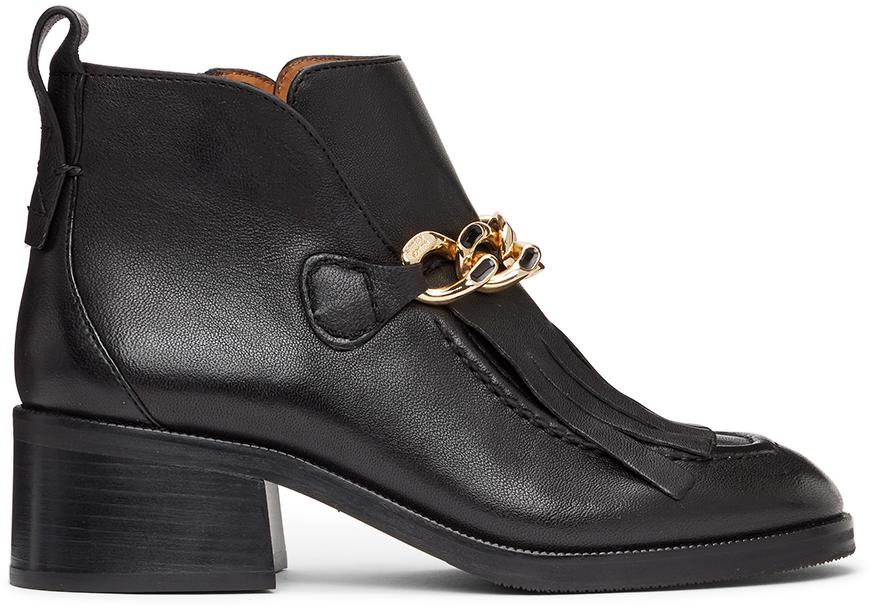 See by Chloé 黑色 Mahe 踝靴